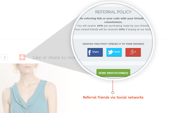 Earn Reward Points when Refer friends